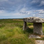 West Cornwall has many ancient monuments & sites such as Lanyon Quoit